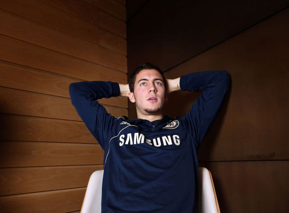 """""""I knew Chelsea was a club that changed its manager reasonably often,"""" says Eden Hazard"""