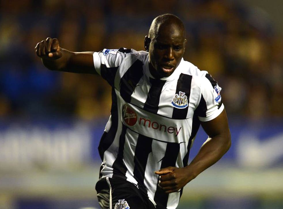 Newcastle have yet to agree an improved deal with Demba Ba