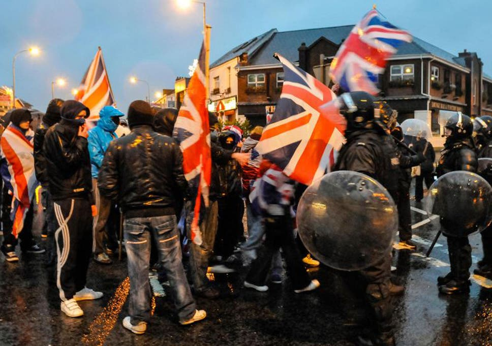 Unflagging Hatred The New Symbol Of Violence In Belfast The