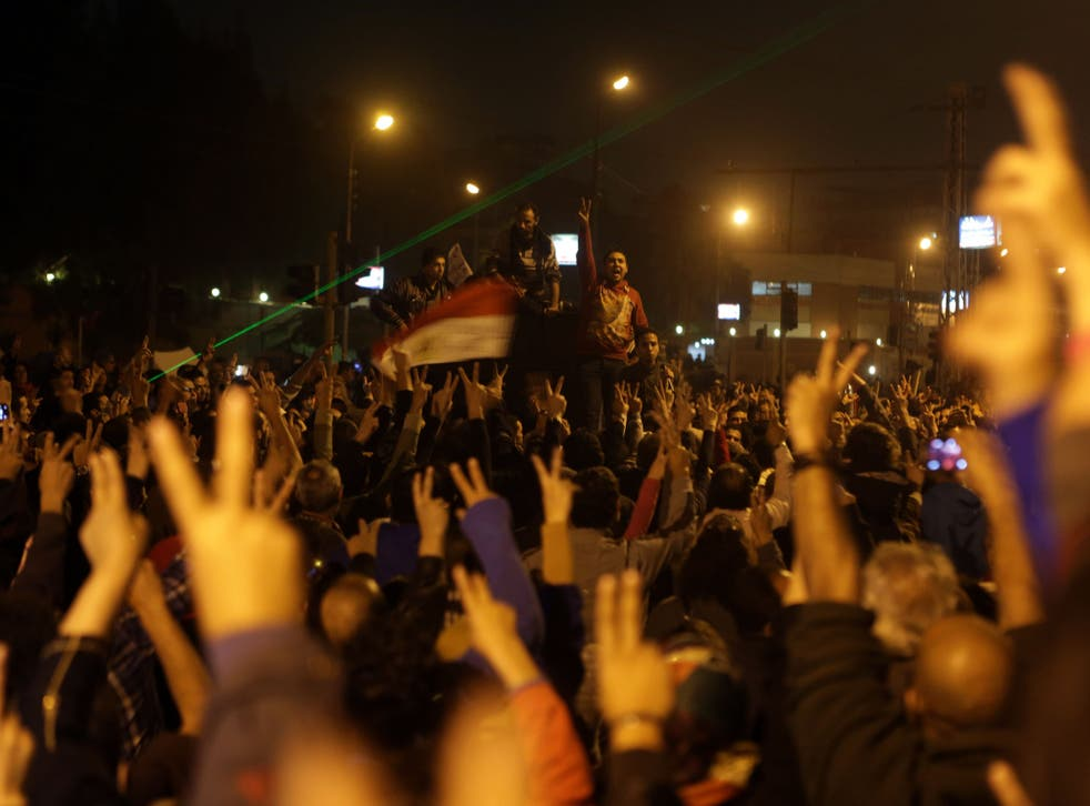 Cairo: Protesters have been thrown into confusion by Morsi's move