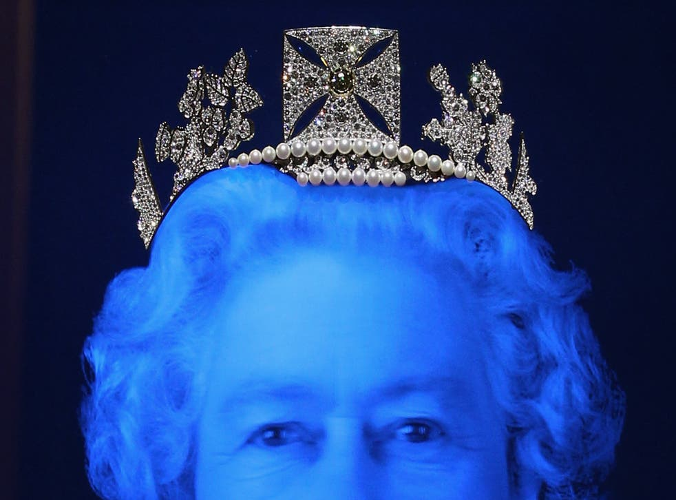 A portrait of the Queen by Chris Levine