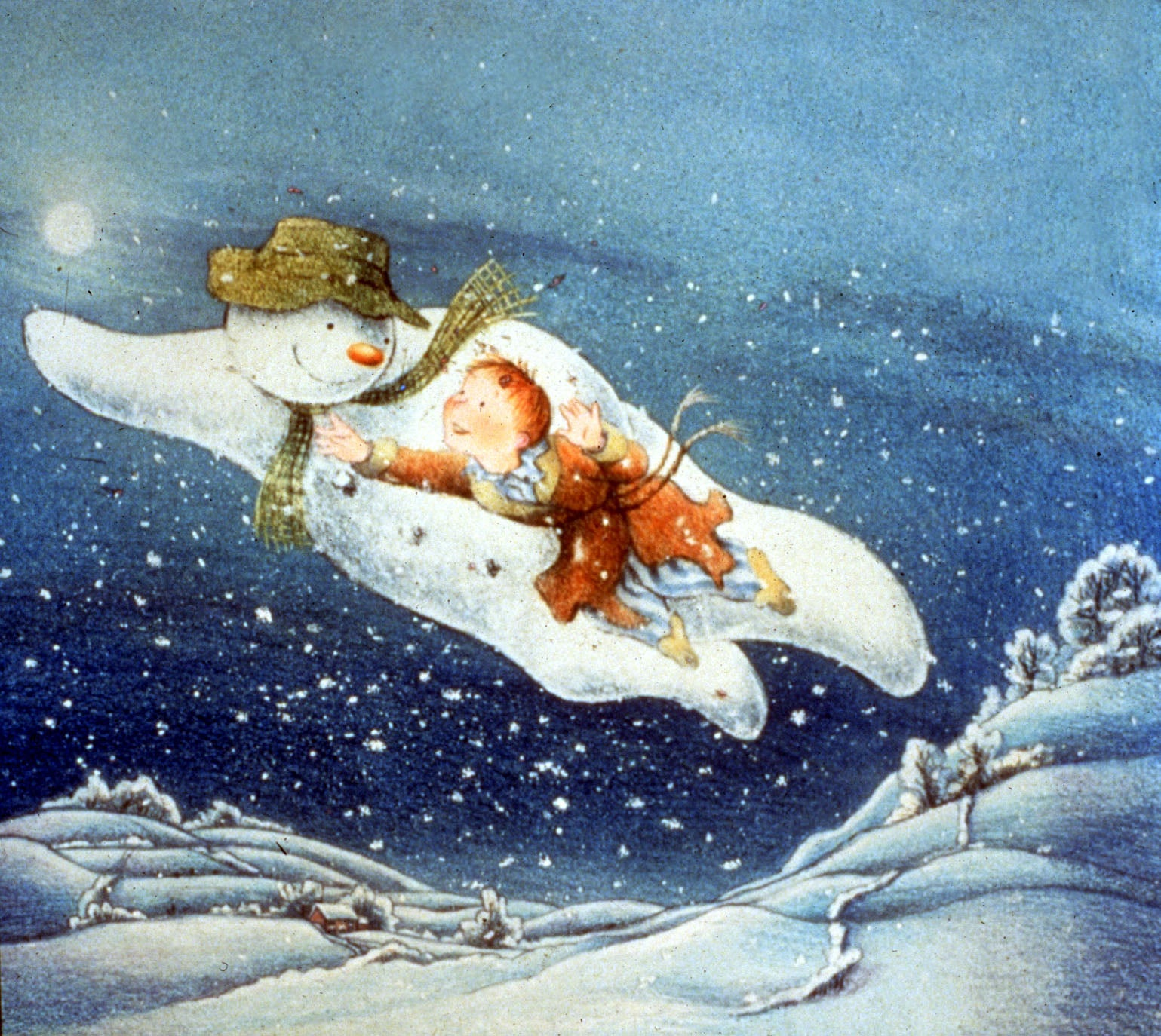 Raymond Briggs: The Snowman is not really about Christmas, it\'s ...