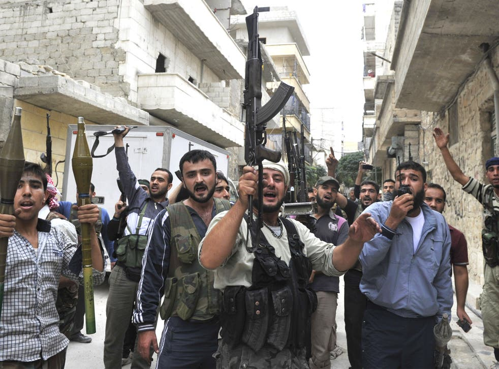 Syrian rebels are running low on weapons and supplies