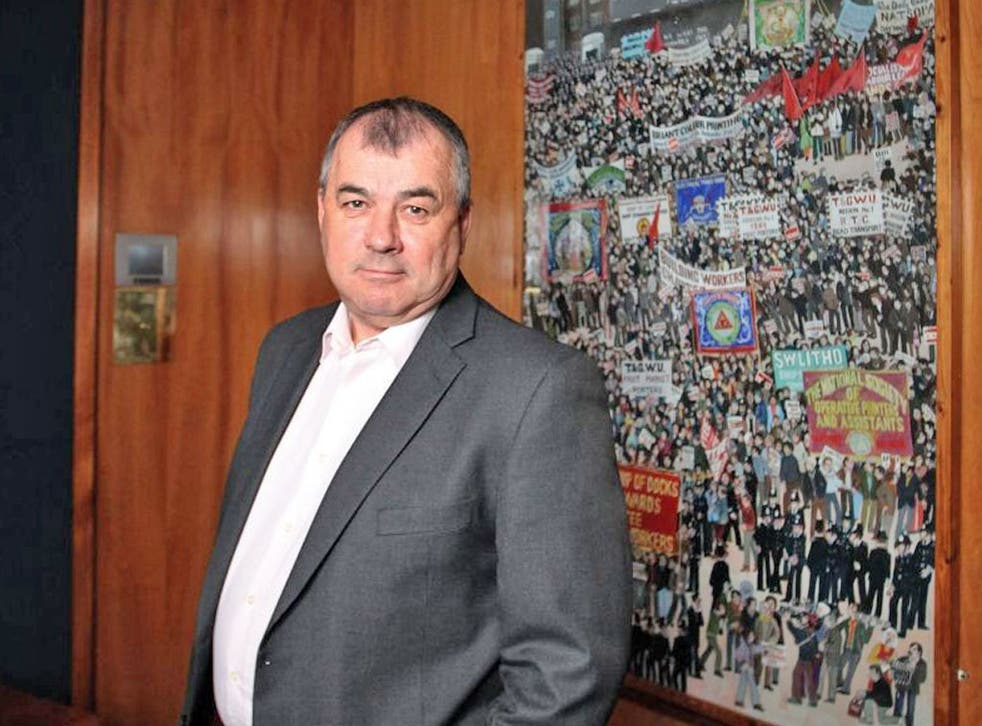 Brendan Barber: 'Unions have been working closely with industry to minimise losses'