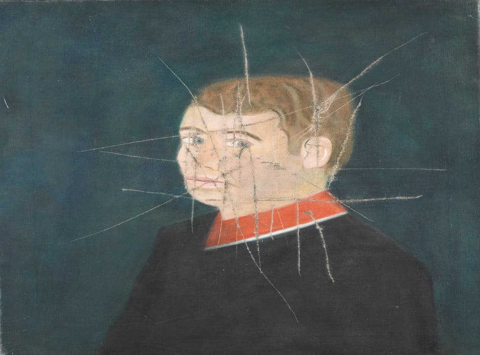 A self-portrait which had been destroyed by its artist, the late Craigie Aitchison, has been bought by the National Portrait Gallery