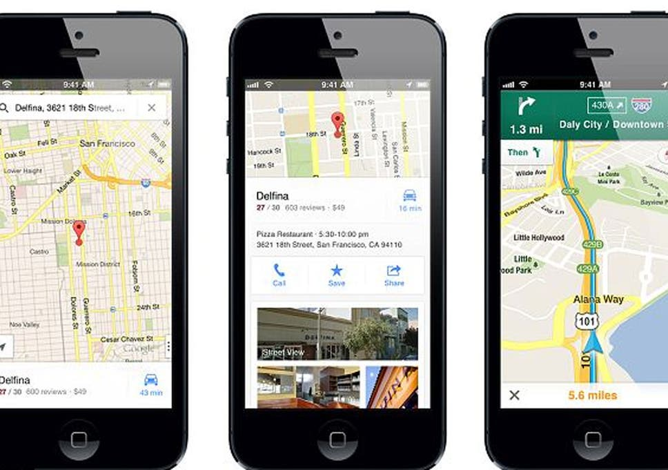 iPhone users download over 10 million copies of Google Maps app in on