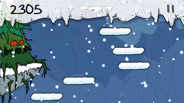 """<p>1. Doodle Jump Christmas Special</p>  <p>iOS & Android, 69p, <a href=""""bit.ly/XljTgI"""" target=""""_blank"""">bit.ly/XljTgI</a></p>  <p>From Lima Sky, the team behind the incredibly addictive Doodle Jump, comes this special edition to keep the children entertained.</p>"""