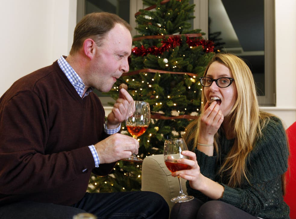 Pick and mixer: wine expert Clive Barlow and writer Emily Jupp test combinations of wine and chocolate