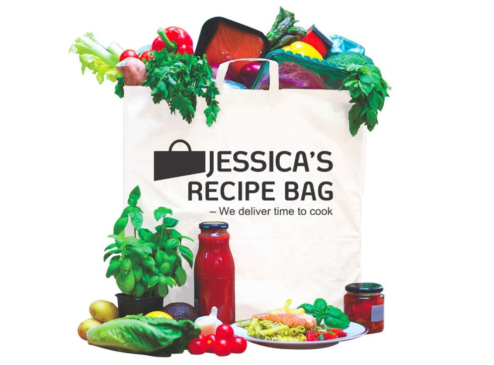 Jessica's recipe bag: 'There were vegetables, there was cheese, there was meat, there was fish – there was even a lime for my gin and tonic. The cost? £69.'