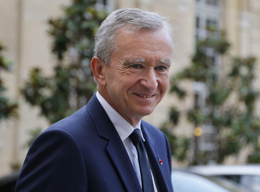 Bernard Arnault's application for Belgian citizenship has been rejected