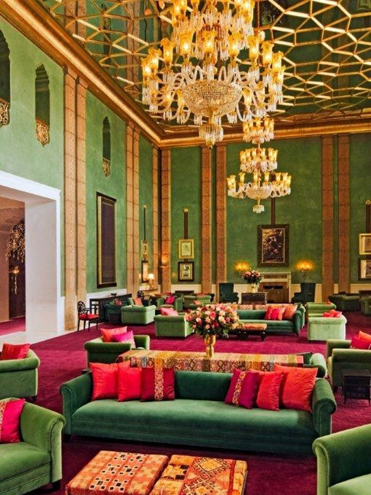 A marvel of modern luxury in Marrakech   The Independent