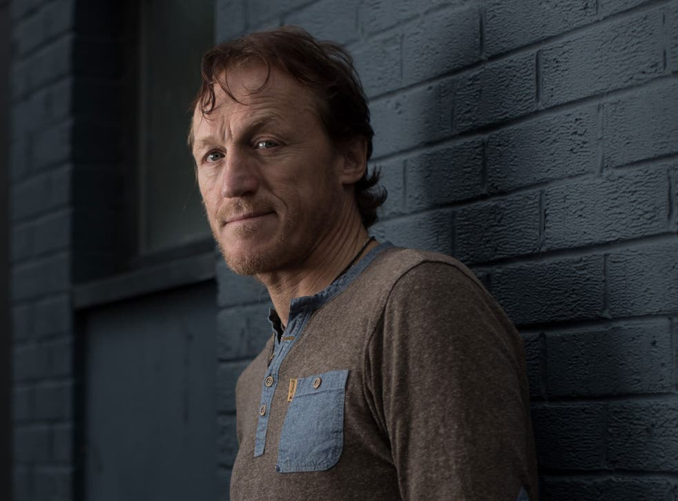 Jerome Flynn, of Robson & Jerome fame in the 90s - he now stars in Game of Thrones and is back on screen in the BBC's Ripper Street