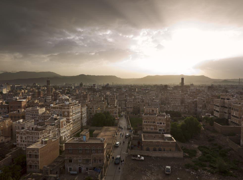 SANA'A, YEMEN - the capital city of Yemen