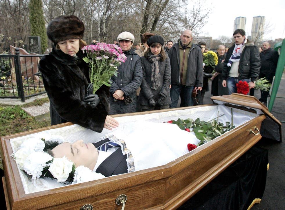 Sergei Magnitsky's mother, Nataliya Magnitskaya, grieves for her son in 2009