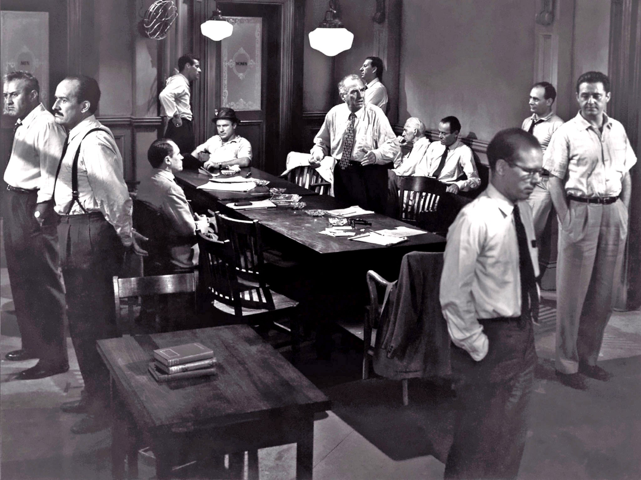 12 Angry Men movie scene