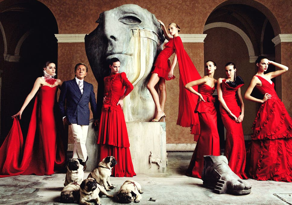 81023e7f4f0 Valentino Garavani: The man who turned fashion into an art form ...