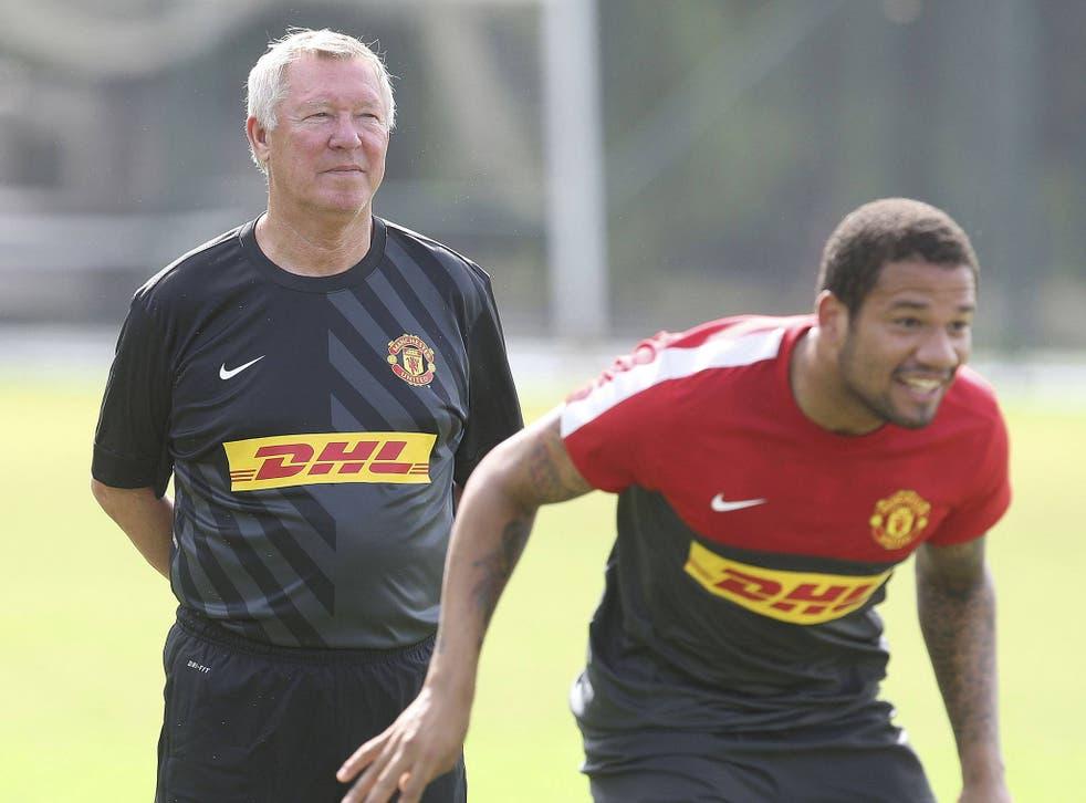 Alex Ferguson watches over Bebe