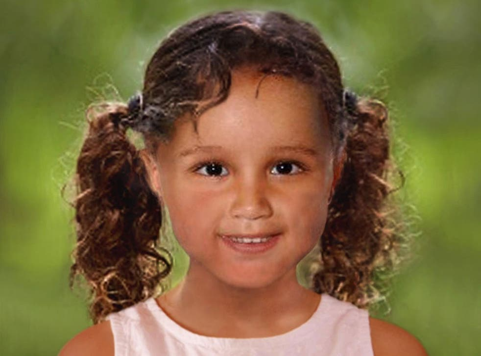 An age progressed photo of how missing Atiya Anjum-Wilkinson would look today