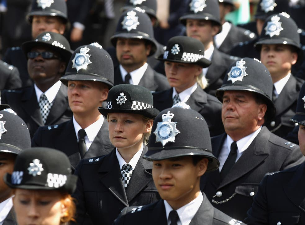 The sharpest drops of nearly two-thirds were reported by police forces in Cleveland, North Wales and Staffordshire, according to figures obtained by a Freedom of Information request by BBC Radio 4's The World This Weekend.