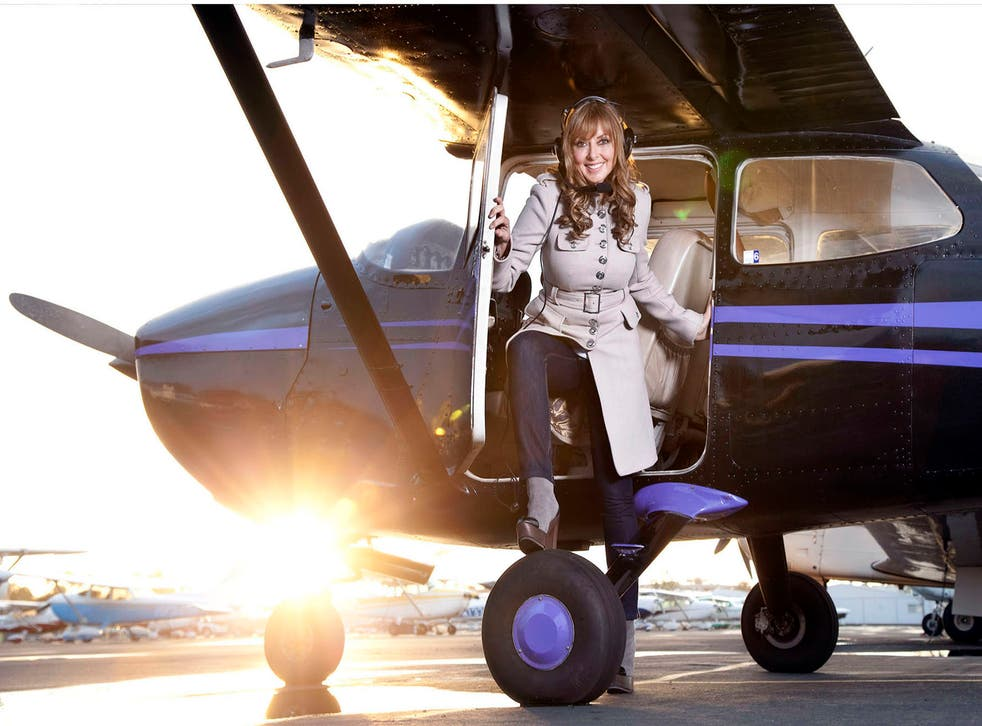 Carol Vorderman has been clocking up the air miles to fulfil a lifelong dream of obtaining a pilot's licence.