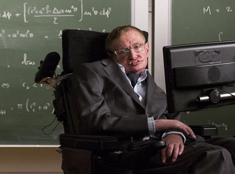 Stephen Hawking, internationally-renowned theoretical physicist, has apparently been inspired by Sue Barker and Louie Spence to appear in the latest episode of the world's most annoying adverts