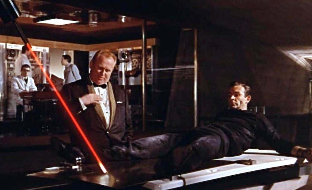No Mr Bond I Expect You To Die Showdown Between Goldfinger And