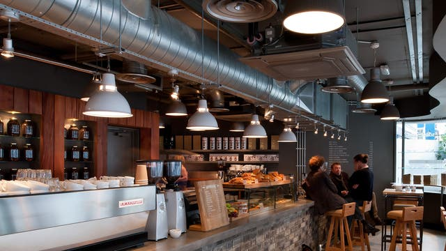 <p><strong>Small Batch Coffee, Brighton</strong></p> <p><em>My Hotel, Jubilee St, Brighton, East Sussex, BN1 1GE</em></p> <p>&#x201c;They have six sites in Brighton, which offer great service in cool locations,&#x201d; says Chris. </p>