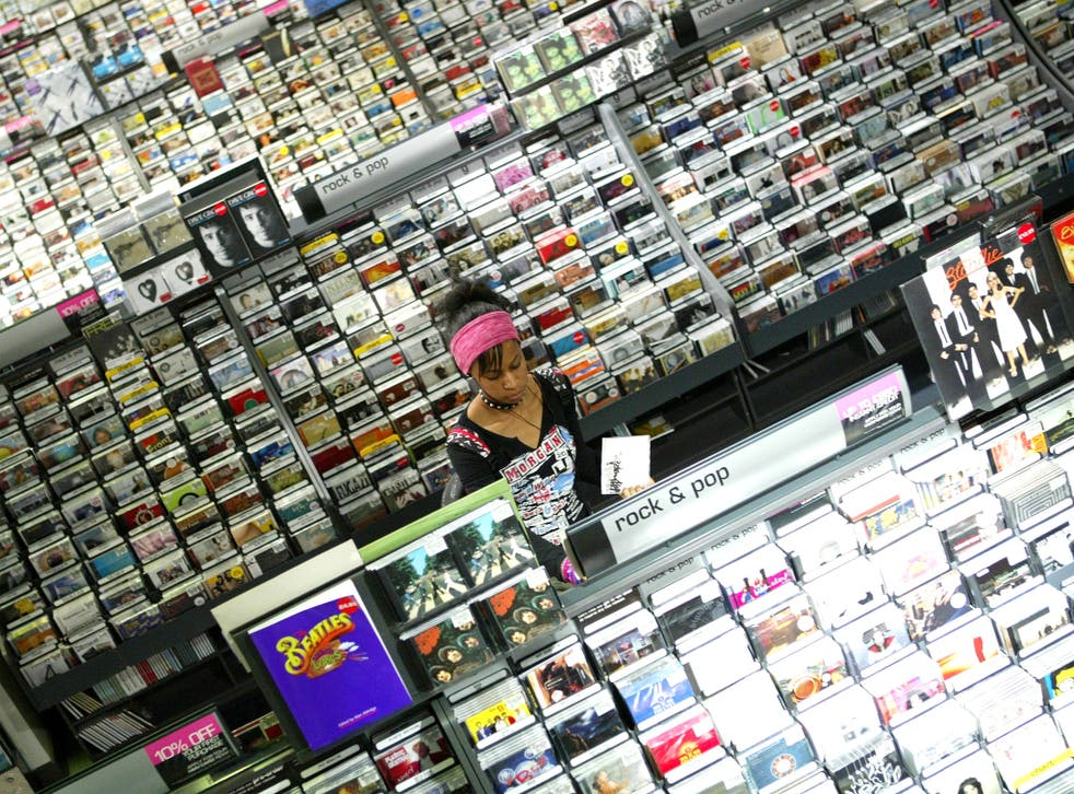 Sales of album CDs were down by 19 per cent in 2012