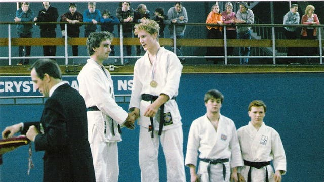 Poetry based on personal experience: Owen Lowery as a judo champion
