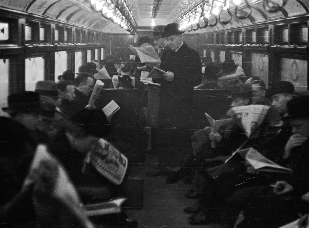 Tickets, please: Commuting in 1939 was good for newspaper sales