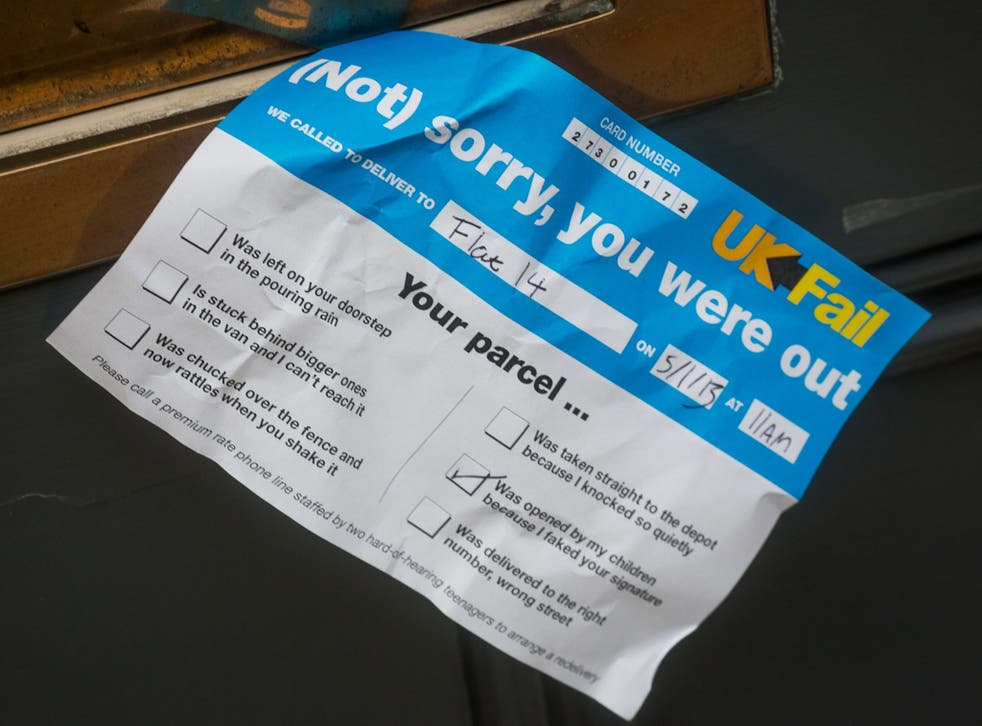 Thousands of consumers were left out of pocket due to failed deliveries over the Christmas period