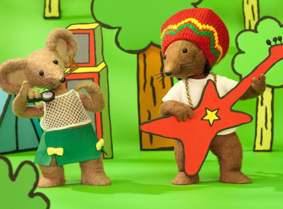 Rastamouse - part of the 'golden age' for the creative industries