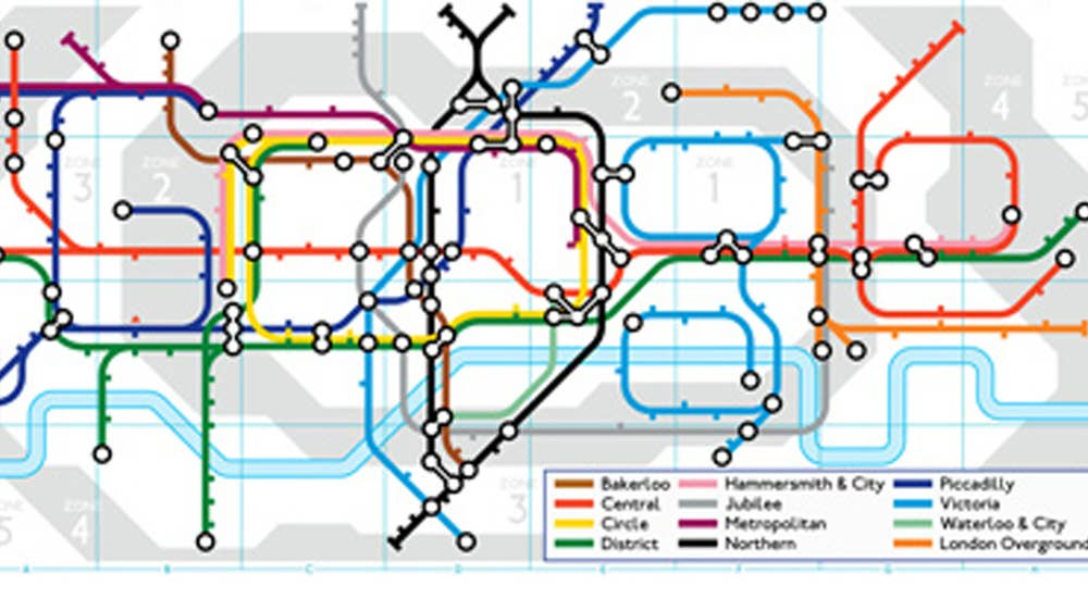 Central London Google Map.Google Doodle Celebrates 150 Years Of The London Underground The