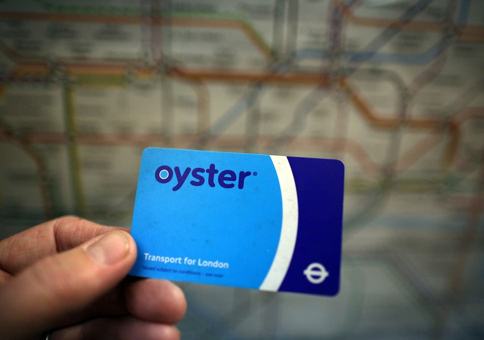 70331e030a609 Oyster card users pay up to £91 more each week than people using new  contactless payment