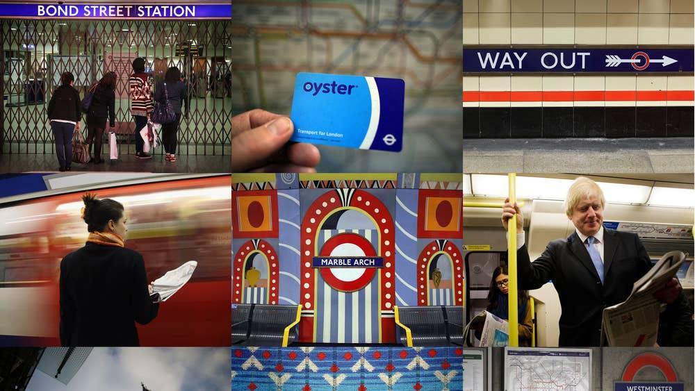 London Tube Dating-App