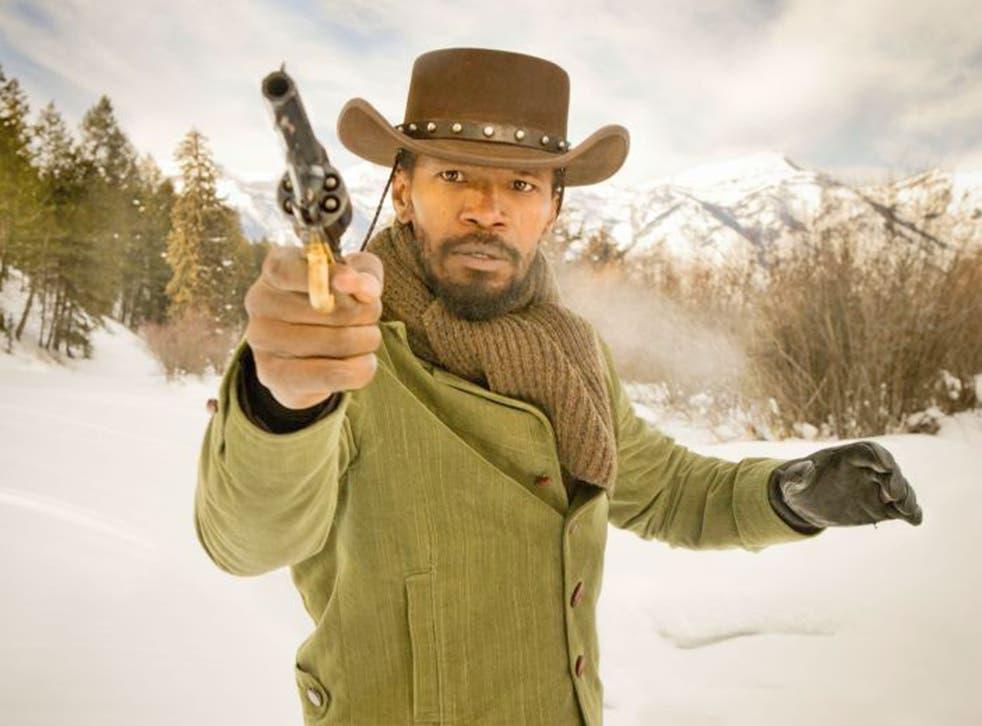 Shoot to thrill: Jamie Foxx stars in Django Unchained