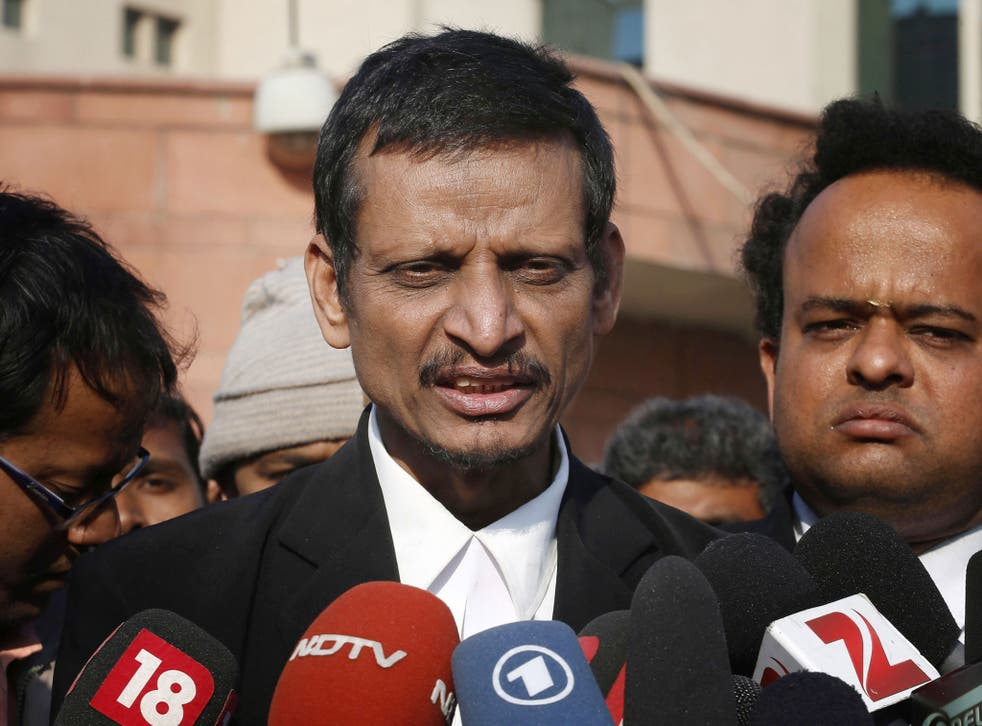 Manohar Lal Sharma represents two of the men accused of rape