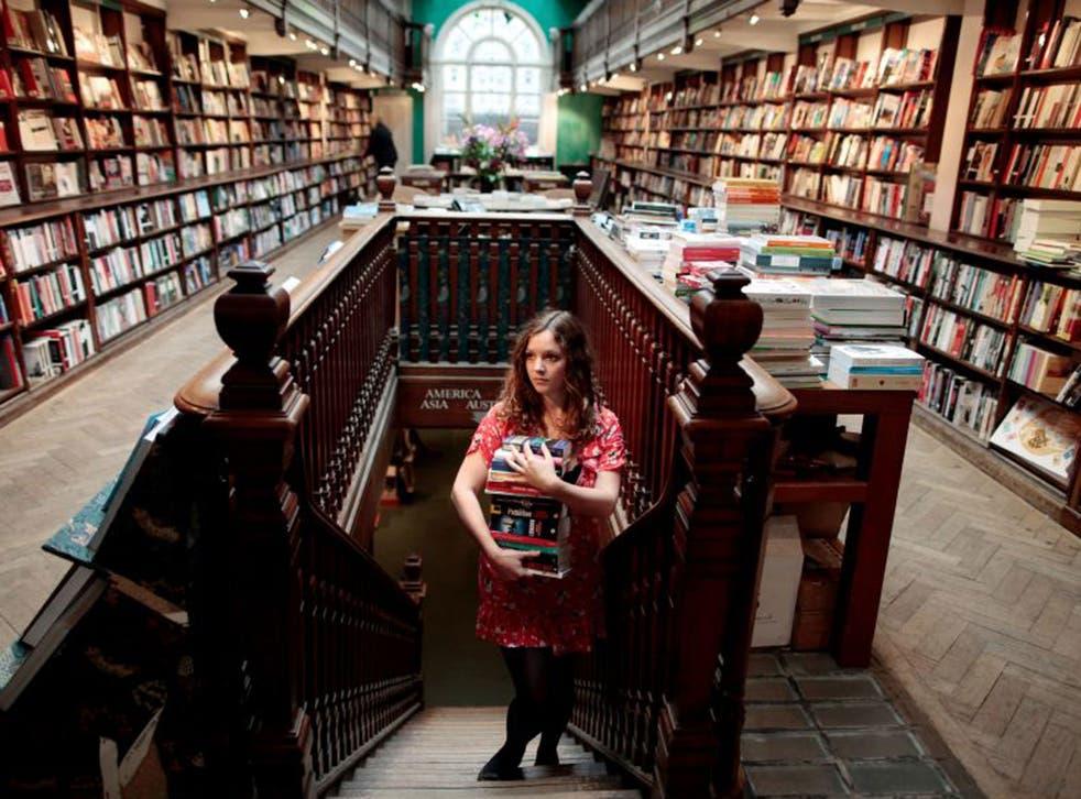 A branch of Daunt Books on Marylebone High Street, London