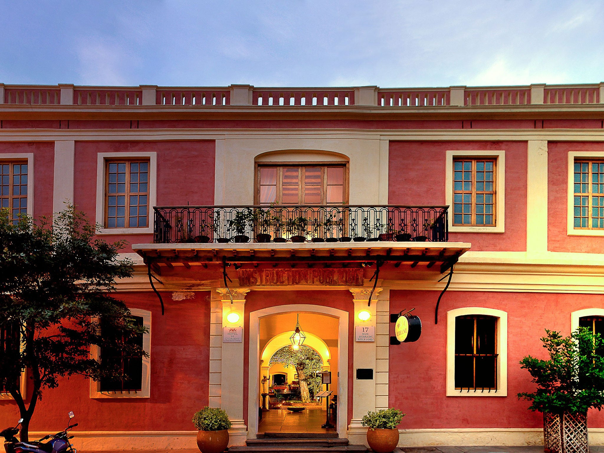 Pondicherry A Corner Of India That Is Forever France The Independent