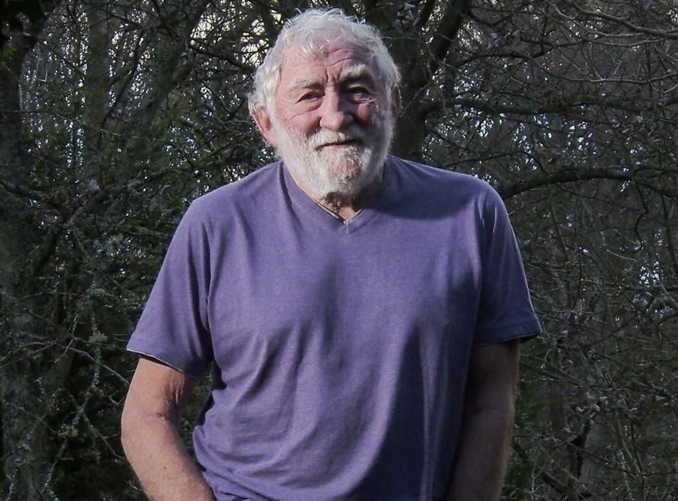 Green man: David Bellamy in his garden in CoDurham. 'I helped start conservation'