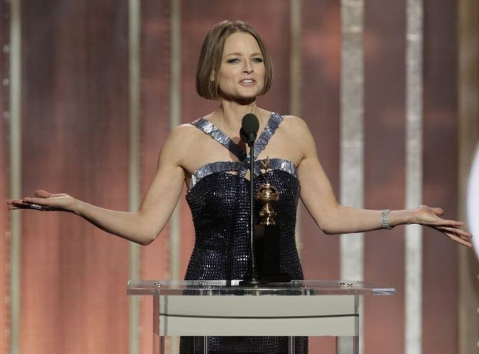 Sophie Heawood says Jodie Foster's 'not-coming-out' speech can bring about positive change in Hollywood