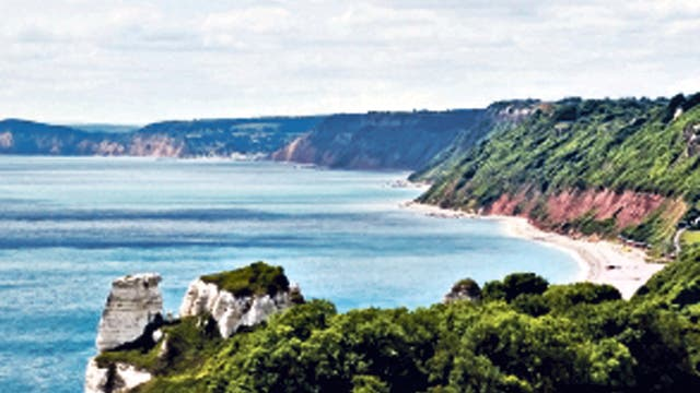 <p>{1} Beer to Branscombe, Devon</p><p>This amble along the Jurassic Coast is perfect for dog-walkers. The South West Coast Path is canine-friendly and Branscombe and East Beach in Beer allow dogs on the sands. The Anchor Inn and the Mason's Arms, at the