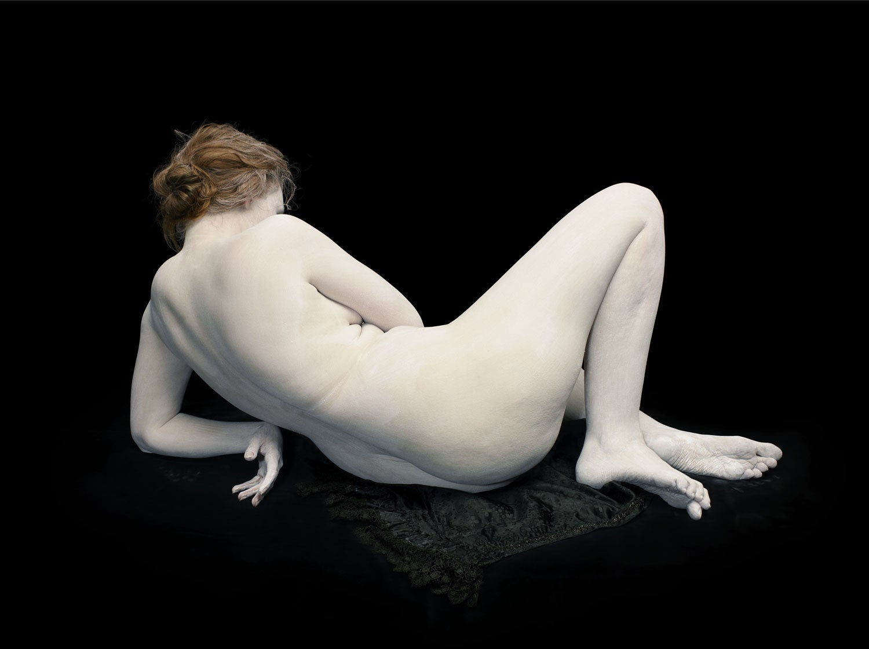 Black Woman Body Naked Art