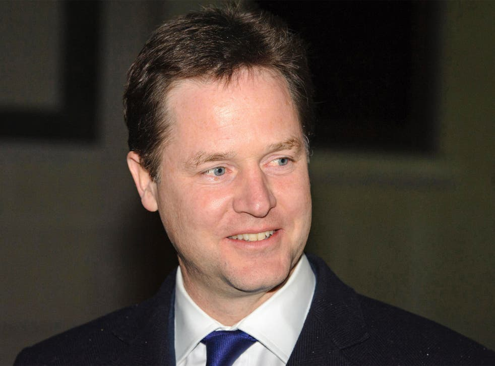 Nick Clegg: 'Uncertainty is the enemy of growth and jobs'