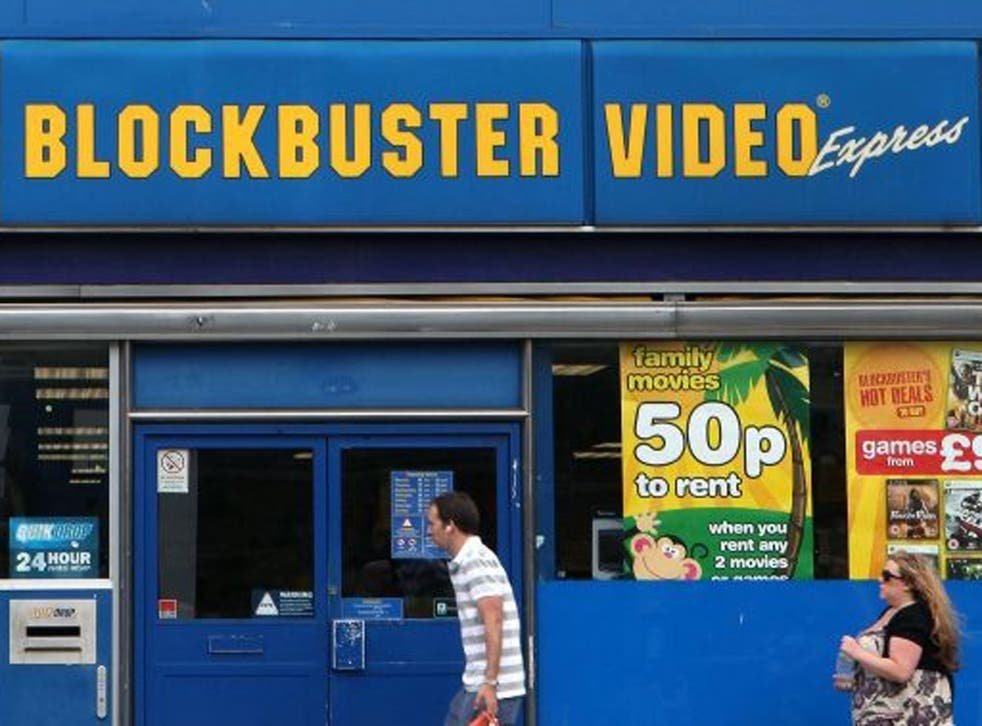 Blockbuster UK has appointed the accountancy firm Deloitte as administrator