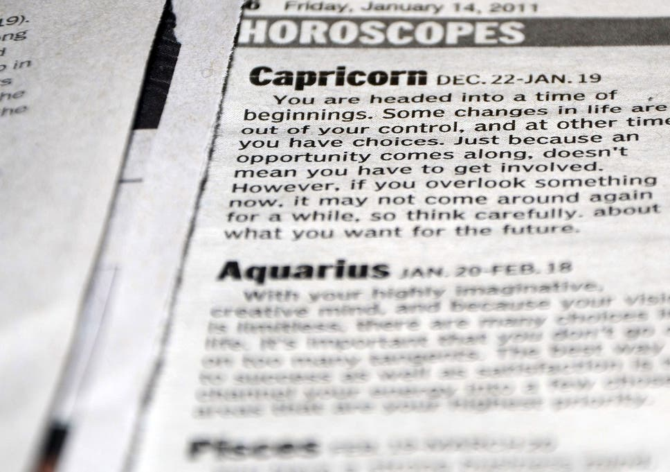 Horoscopes 'bad for you' say scientists, warning obsession with