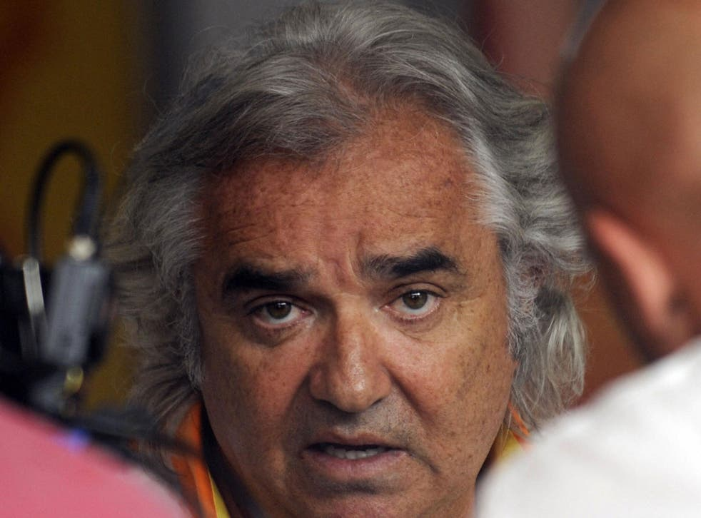 <b>Flavio Briatore</b><br/>  Renault F1 managing director Flavio Briatore was banned for life from the sport in 2009 for ordering his driver Nelson Piquet Jr. to crash in order to bring out the safety car which would help his teammate Fernando Alonso. The