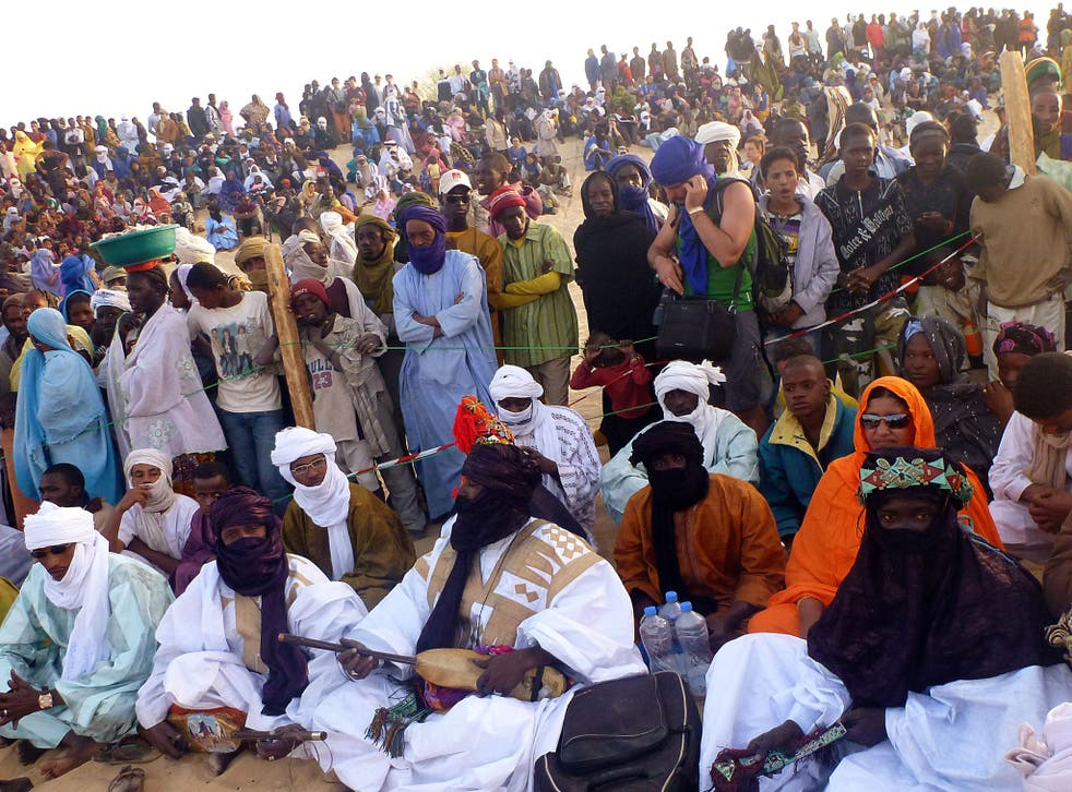 In unison: Much of Mali's music has been banned since last year's Festival in the Desert