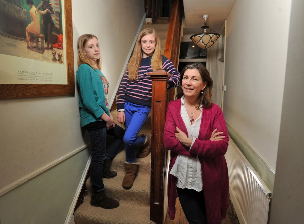 Lindsay Julian has three daughters: Emily is 24, Olivia (far left) is 14, and Amelia (centre) is 11: 'when my younger girls got close to the age where things got difficult with Emily, I thought: we're going to do things differently this time round'