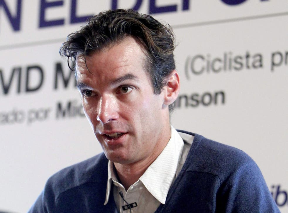 """David Millar: """"We have cleaned up our sport. Professional cycling is probably now one of the cleanest sports in the world."""""""